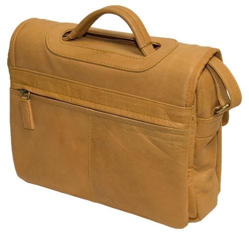 Visconti Atlantic - Umhängetasche / Organizer-Tasche für Damen - weiches Echtleder - BETH # 1375 Sand