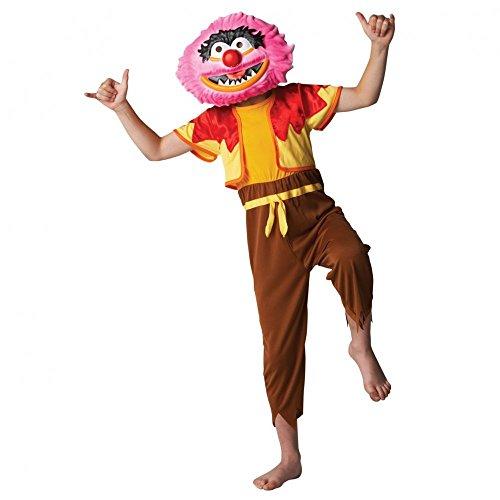 Kostüm Muppet Gonzo - Disney Muppets Deluxe Tier Kostüm (mittel, 5-6Jahre)