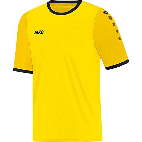 JAKO Kinder Trikot Leeds KA Fußballtrikots, Citro/Gelb, 128
