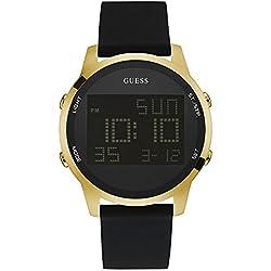 Guess Reloj con movimiento mecánico japonés Man Satellite W0787G1 46 mm