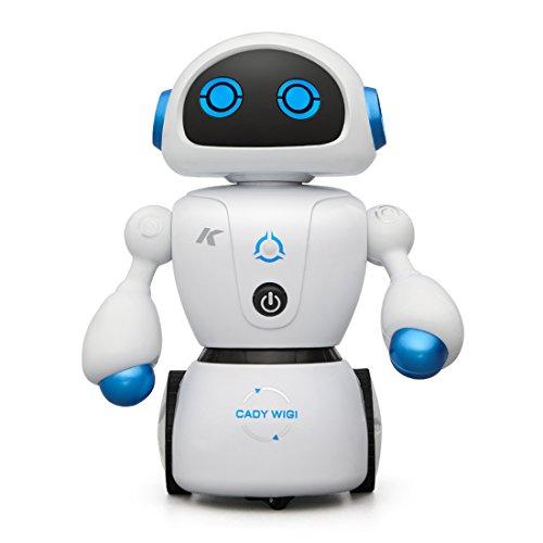 Tosbess JJRC R6 Ferngesteuerter Roboter Intelligente Programmierung Geste Sensing RC Robot Kit, Tanzen Singen Walking RC Spielzeug für Kinder Unterhaltung