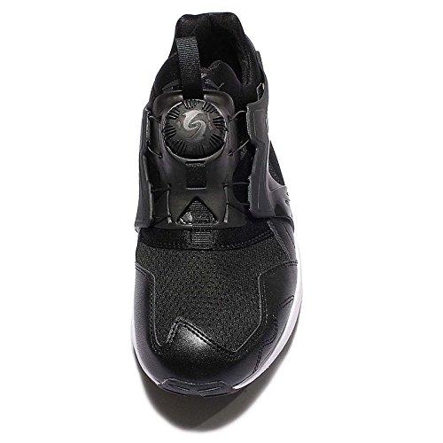 Puma Disc Blaze: Actualización De Las Especificaciones Del Núcleo Sneaker Men Trainers 359516 03 Blanco Nero / Nero / Nero