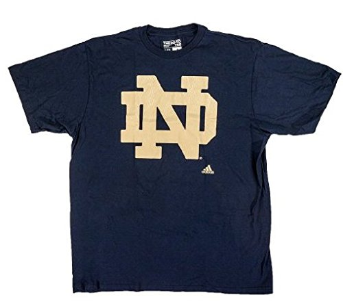NCAA College Football T-Shirt Notre Dame Fighting Fightin' Irish navy Big Win (M)