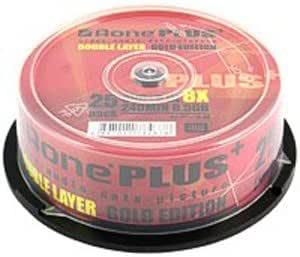 Aone DVD+R Dual Layer Full Face - 25 Pack