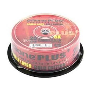 Aone DVD+R Double couche Lot de 25 (Import Royaume Uni)