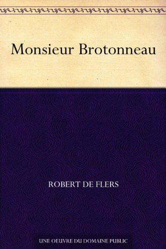 Couverture du livre Monsieur Brotonneau