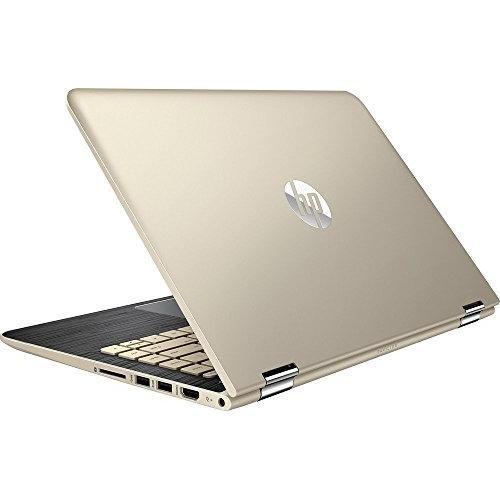 Top Performance HP Pavilion X360 13.3 2-in-1 Touchscreen FHD IPS Laptop, 7th Intel Core i5- 7200U, 8GB DDR4 RAM, 128GB SSD, Bluetooth, 802.11ac, HDMI, B&O Audio, Backlit Keyboard, Windows10-Gold 41lCfmIHrGL