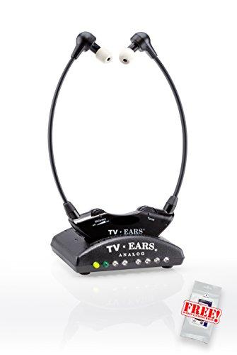TV Ears 5.0 Original TV-Kopfhörer zur Hörunterstützung – kabellose Hörhilfe mit einfacher Bedienung