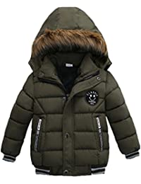 Kobay Mode Kinder Mantel Jungen Mädchen Dicken Mantel Padded Winter Jacke Kleidung