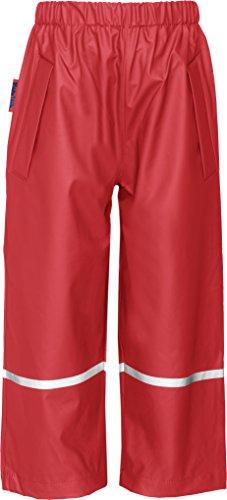 Playshoes Unisex - Kinder Hose 405423 Regenhose ohne Latz, Gr. 92, Rot (8 rot)