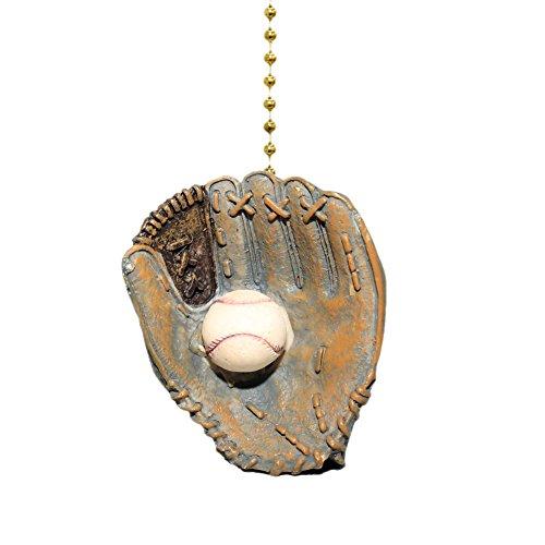World Series Baseball Handschuh Ball und Deckenleuchte Fan Light Pull