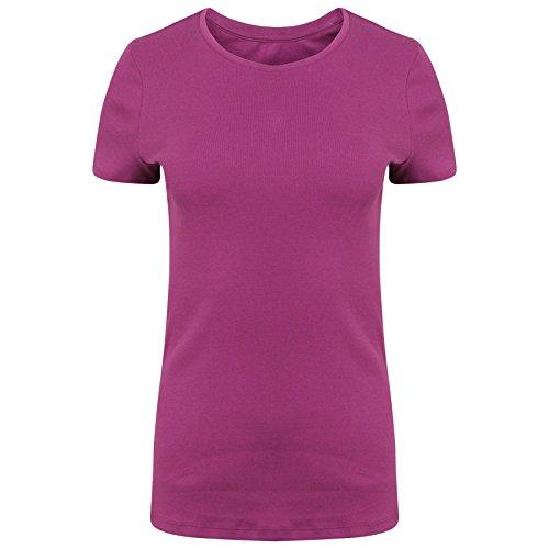 womens-ladies-ex-ms-pure-cotton-short-sleeve-crew-neck-t-shirt-size-8-24