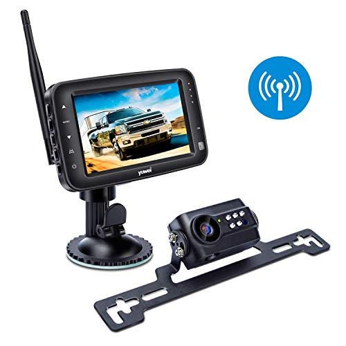 Digitale Rückfahr-Kamera, kabellos, Wasserdichtigkeit IP69, nachtsicht-fähig, inklusive 10,9cm LCD-Monitor, für Wohnwagen, Lastwagen, Pferdeanhänger und mehr.