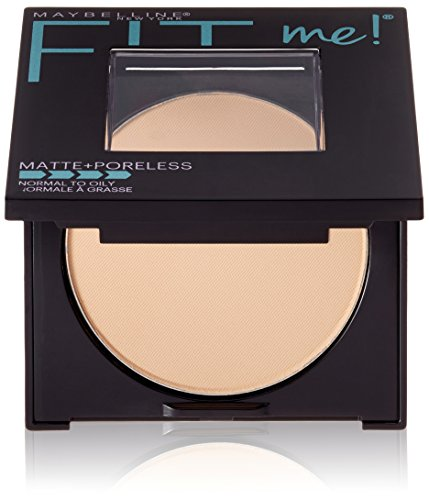 Maybelline New York Fit Me Matte Poreless Powder, Classic Ivory 120, 8.5g