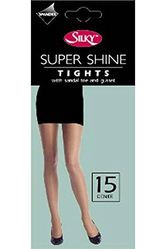 silky-ladies-shine-tights-sheer-15-denier-s-m-l-xl-color-bronze-size-large