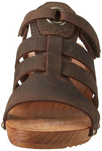 Sanita Oline Sandal, Mules Femme Braun (Antique Brown)