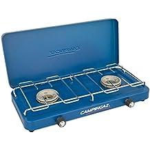 Campingaz 2000010109 Base Camp - Hornillo de gas con tapa (43 x 24 x 8 cm), color azul