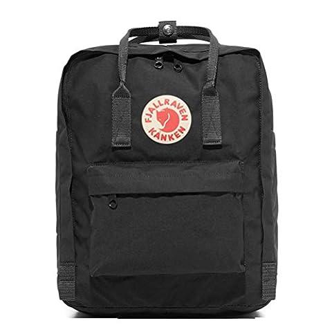 Bovake Unisex Fashion Classics Rucksack Handtaschen Studenten Schulranzen 16L (Black)