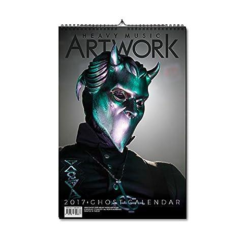2017 Ghost Calendar