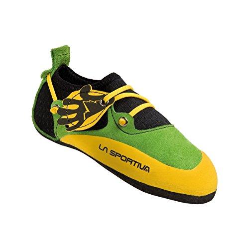 La Sportiva Stickit - Pies de gato Niños - amarillo/verde Talla 26-27 2019