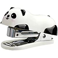 Stonges Mignon Panda Mini agrafeuse de bureau et Agrafeuse main Agrafeuse bureau / Accueil agrafeuse (6 * 2.5cm)