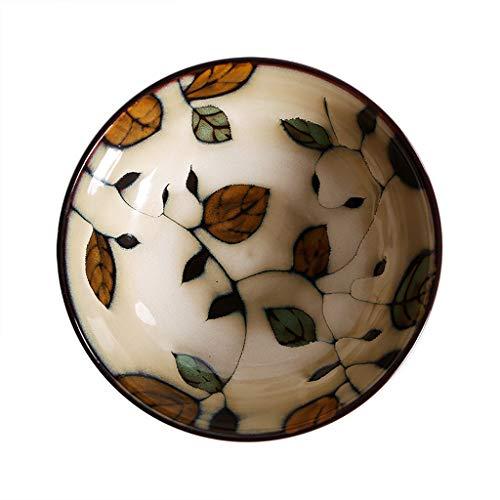 WSGZH Ciotola di Ceramica Giapponese Ciotola di zuppa di Ramen Ciotola di Riso Ciotola di Insalata di casa Ciotola di Frutta Ciotola Creativa istantanea della Ciotola della tagliatella