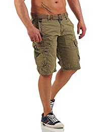 Geographical Norway People Panoramique Men/'s Bermuda Cargo Shorts