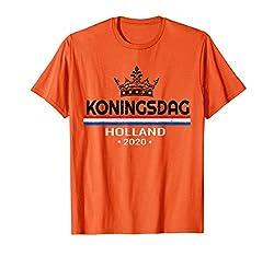 Königstag Holland Shirt Holland Koningsdag 2020 T-Shirt