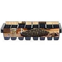 Gardman - Set de bandejas de cultivo (5 unidades, con 40 celdas)
