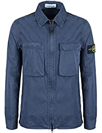 Stone Island Jacket - Spring Summer 2018 Ink Blue Tela Overshirt – RRP £265 (6815111WN V0126)