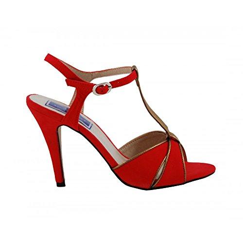 Benavente, Scarpe col tacco donna Rosso-bronzo