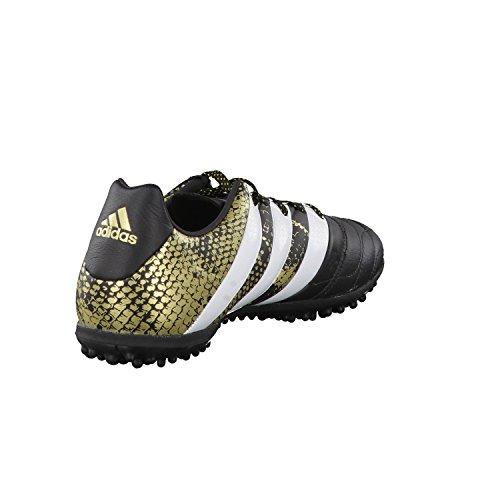 adidas Herren Ace 16.3 Tf Leather Fußballschuhe Schwarz (Negbas / Ftwbla / DORMET)