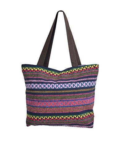 TATTOPANI Sac de plage, Couleurs mélangées (Multicolore) - TP-CH-BAG-06