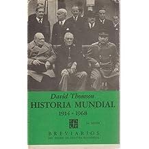 Historia mundial 1914-1968