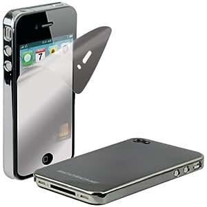 Scosche IP4MDV Dark Chrome Metallic Polycarbonate Case for iPhone 4/4S - Verizon and AT&T