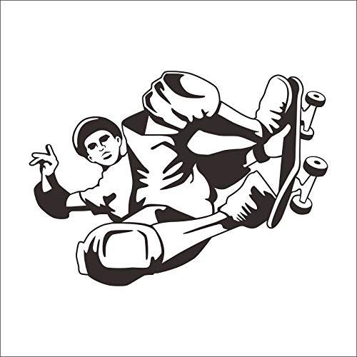 zzlfn3lv Dia Platte Aufkleber Skating Skateboard Longboard Sport Kinderzimmer Vinyl Aufkleber Dekoration Wandbild Wandtattoo 58 * 83cm -