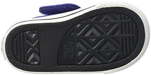 Converse Chuck Taylor Creatures Ox, Sneaker bambine nero nero / Mason / Casinò Pervinca / bacca rosa / nero