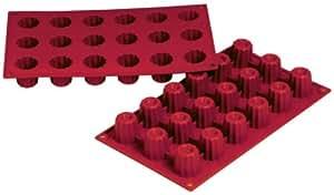 WAS 3172018 silicone-moule bordelais 18 moules - 3,5 x 3,5 cm