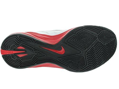 Nike Hyperdunk 2014, Chaussures de Sport-Basketball Homme White/Black/University Red