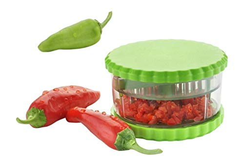 Heavan Unbreakable Garlic, Chilli and Dryfruits Multi Crusher Chopper (Color May Vary)