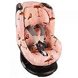Bezug Maxi-Cosi Tobi Kindersitz  Rosa Flamingo  Schweißabsorbierend und weich für Ihr Kind  Schützt vor Verschleiß und Abnutzung  Öko-Tex 100 Baumwolle