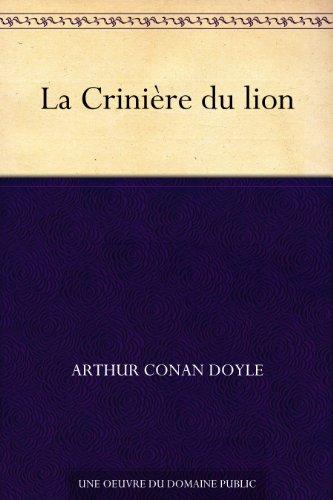 Couverture du livre La Crinière du lion