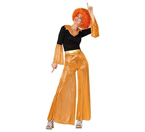 Atosa Disfraz de Disco Girl Naranja
