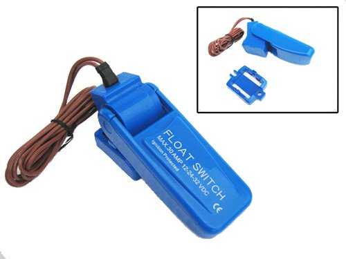 Auto Float Switch On Off Automatic Bilge Pump Control Water 12V 24V 36V Test