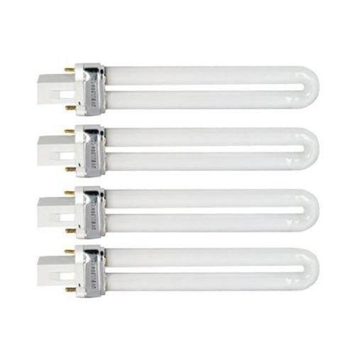 4 BULBI 9 WATT PER LAMPADE UV GEL RICOSTRUZIONE UNGHIE