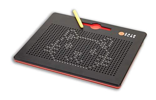 Mag Pad / spannendes Magnetspiel für jung und alt / mit 12 Vorlagenkarten die zum nachlegen anregen / ab 3 Jahren geeignet - Therapeutische Pad