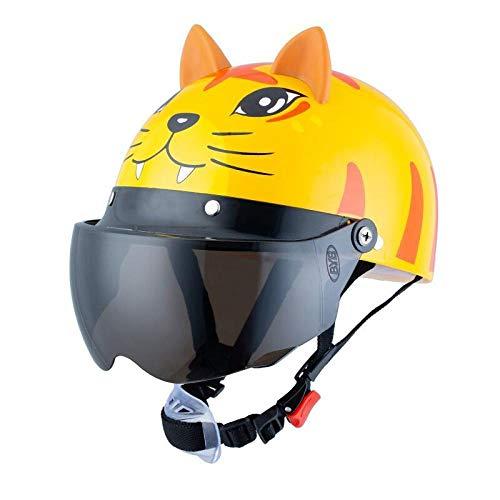 Pinshun voltear hacia arriba casco motocicleta niño