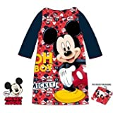 Peignoir plaid couverture Mickey