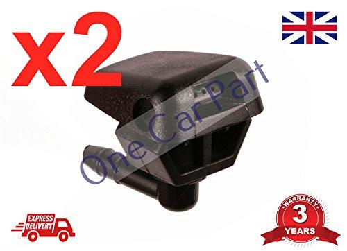 Ugelli lavavetri anteriore Kit tubi flessibili Parabrezza anteriore Ugelli tergicristallo acqua Getti spray lavavetri per Citroen