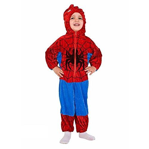 Costume vestito abito travestimento carnevale bambino ragnetto 8871